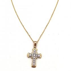 Χρυσός σταυρός GOC003