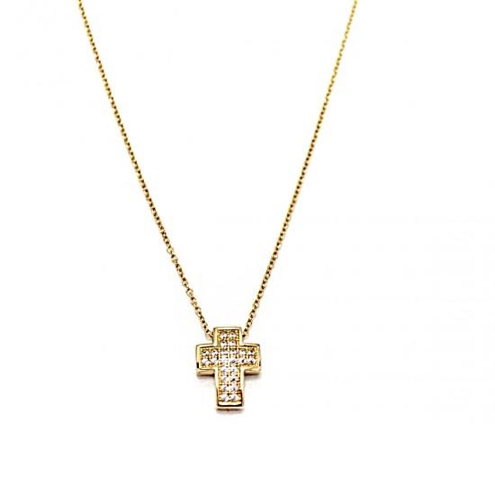 Χρυσός σταυρός GOC005