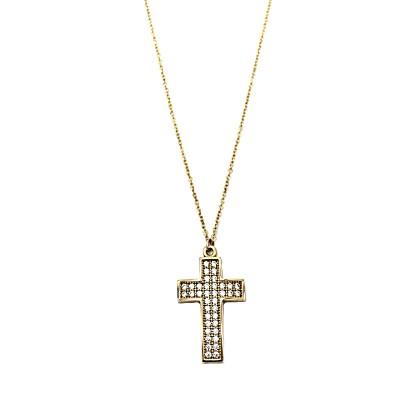 Χρυσός σταυρός GOC006