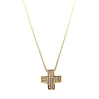 Χρυσός σταυρός GOC008