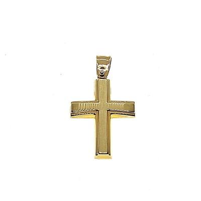 Χρυσός σταυρός GOC037