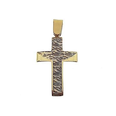 Χρυσός σταυρός GOC041