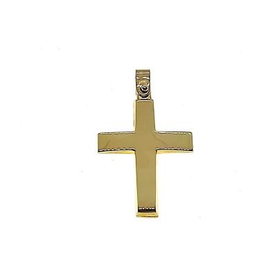 Χρυσός σταυρός GOC042
